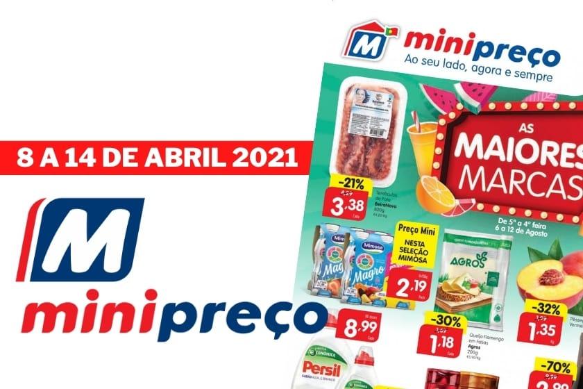 Folheto MiniPreço Antevisão – Promoção de 8 a 14 Abril 2021