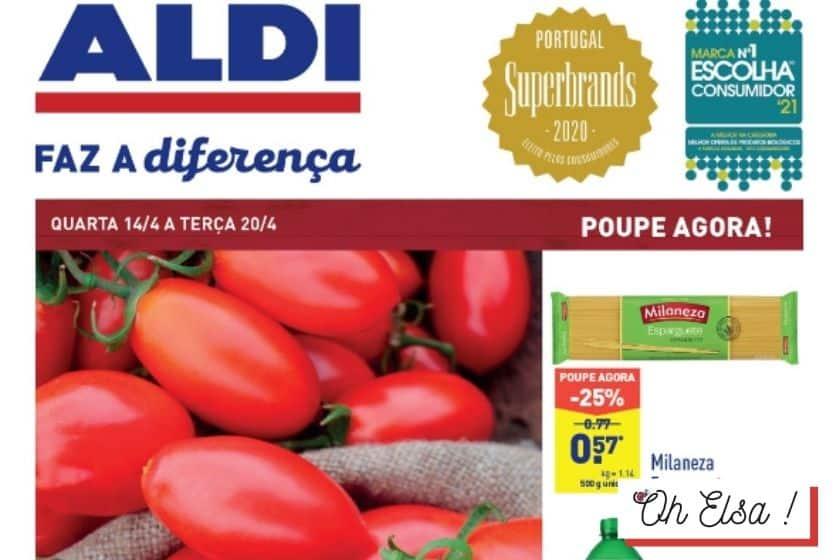Folheto Aldi Antevisão – Promoção de 14 a 20 Abril 2021