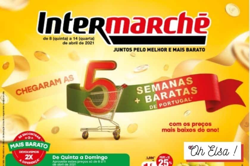 Folheto Intermache Antevisão – Promoção de 08 a 14 Abril 2021