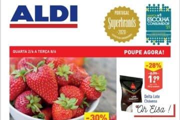 Folheto Aldi Antevisão o Melhor de Espanha – Promoção de 02 a 08 Junho 2021 P2